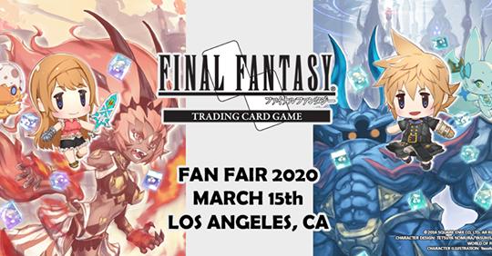 FFTCG North America Fan Fair 2020