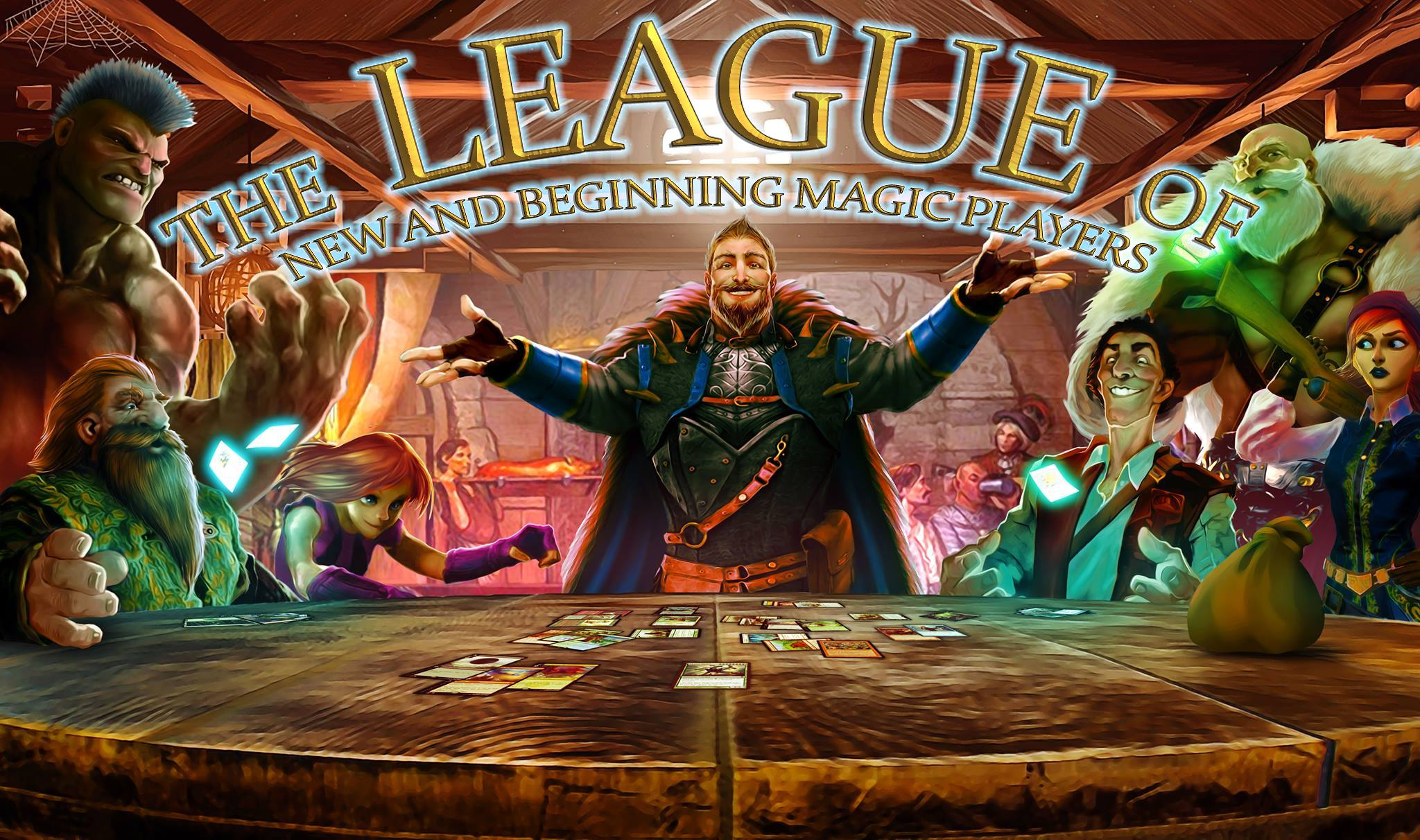 Judges from the League of New and Beginning MtG Players teambuilding afternoon: Let's get ready to judge again!