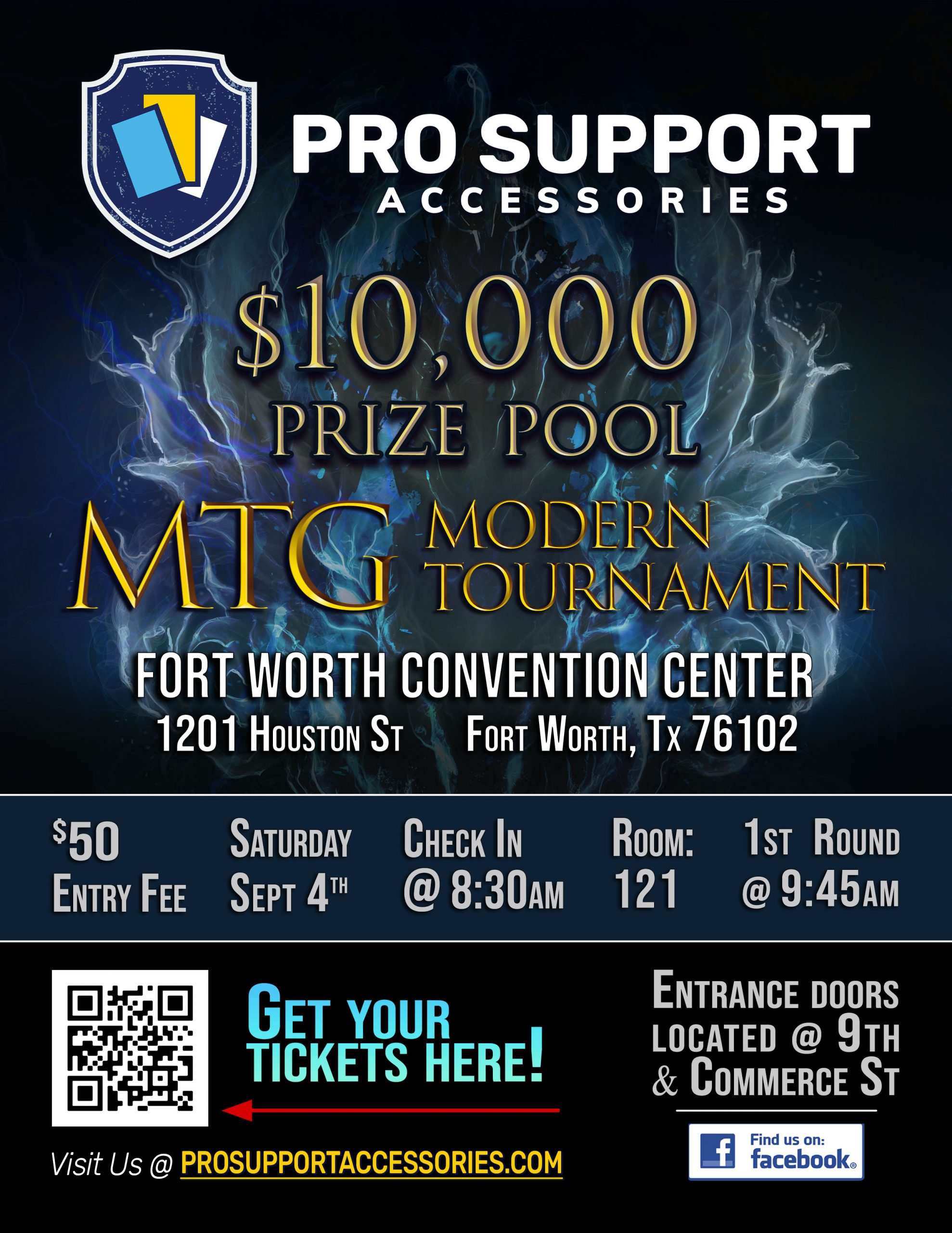 10k Modern Tournament by Pro Support Accessories